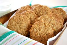 Oatmeal Cookies with Artisan Flour my family loves these!  I add mini chocolate chips.