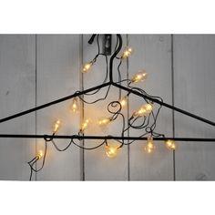 Světelný řetěz STAR TRADING Globe - černý/čirý (Vánoční osvětlení) - Globe Lights, Chandelier, Ceiling Lights, Stars, Lighting, Home Decor, Candelabra, Decoration Home, Room Decor