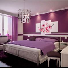 Dream room, purple!