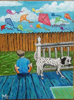 Hey, I found this really awesome Etsy listing at https://www.etsy.com/listing/266402143/boy-with-dog