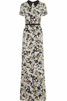 Erdem Fern Floral Print Gown worn by Zoe Hart on Hart of Dixie. Shop it: http://www.pradux.com/erdem-fern-floral-print-gown-29443?q=s24