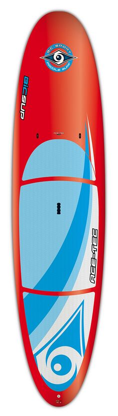 BIC Sport ACE-TEC Performer Stand up Paddleboard, Gloss Red/White, 11-Feet 6-Inch x 32.5-Inch x 30# x 215L