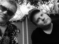 Dennys Ilic - So @Adam_Bartley just turned up! #Longmire reunion with @camerones101 @Whittonmusic @LifeByLazar #RobertTaylor 😁