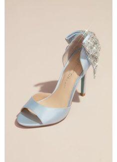 Davids Bridal Shoes, Bridal Wedding Shoes, Bridal Heels, Wedding Favors, Wedding Gowns, Stiletto Pumps, Peep Toe Heels, Pointed Toe Pumps, Mother Of The Bride Dresses Long