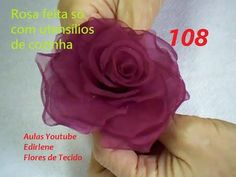 AULA 108: ROSA FEITA COM UTENSÍLIOS DE COZINHA (atendendo pedidos) - YouTube
