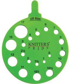 KNITTER'S PRIDE ROUND NEEDLE GAUGE ENVY KP800222