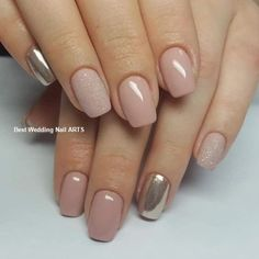 Nail ideas and inspiration. Nails looks including acrylic gel matte glitter and natural. Gold nails nail design and nail art. Summer nails and winter nails. Long and short nails. Nail shapes including almond tapered round stiletto square oval and squoval. Gold Nails, Pink Nails, My Nails, Gold Glitter, Matte Nails, Squoval Acrylic Nails, Nail Shapes Squoval, Coffin Nails, Oxblood Nails