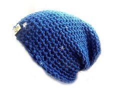 REJAdekor / Trblietavá čiapka modrá