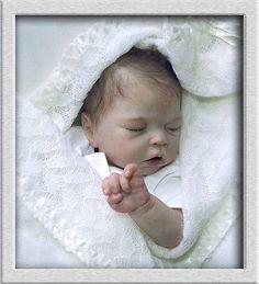 TINKERBELL NURSERY Helen Jalland Prototype reborn baby girl doll. One of Twins!