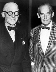 Charles-Édouard Jeanneret, better known as Le Corbusier and Walter Adolph Georg Gropius