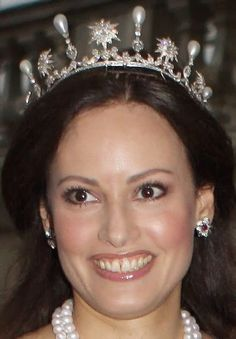Tiara Mania: Queen Sophia of Sweden's Star & Pearl Tiara