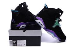 3f98855647d098 Nike Air Jordan AJ6 Retrocouples Jordan Retro 6 Basketball Shoes Men  Luminous Black Purple
