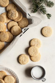 These vanilla almond sugar cookies are simple to make, roll, and decorate. A perfect vegan cutout cookie for the holiday season (or anytime)!