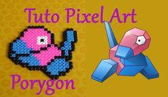 Tuto Pixel Art n°6 : Porygon [Pokemon]