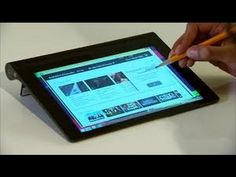 ▶ This Lenovo tablet pairs cutting edge tech with innovative design - YouTube