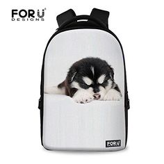 New Trending Briefcases amp; Laptop Bags: FOR U DESIGNS White Sleepy Dog Printed School Book Bag 13 Inch Laptop Backpack. FOR U DESIGNS White Sleepy Dog Printed School Book Bag 13 Inch Laptop Backpack  Special Offer: $38.99  388 Reviews FOR U DESIGNS launched a series of large backpacks with various style. Creative Design for you,Our polyester backpacks are fashionable and cool. The print pattern are...