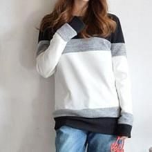Lina - Long Sleeves Colour Panel Pullover