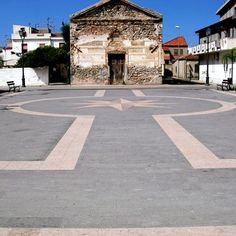 Amazing plaza in Tuscany. Realized with SANTAFIORA stone from our own quarries in Tuscany - Italy