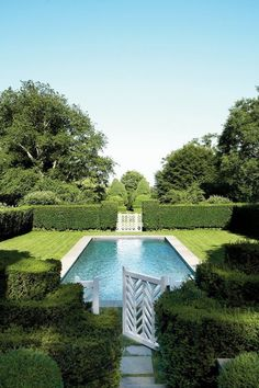 Pretty Pools from Pinterest | The English Room