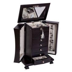 Gift Idea - Layla Wooden Jewelry Box!