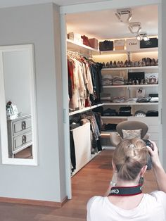 Walk in Wardrobe  Shooting in my House #closet#wardrobe-#Rimadesio#home#decoration#furniture#fashion#interior