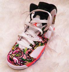 Custom Jordan's infrared 6s