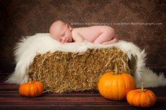 Fall newborn portrait. www.BrittanyRaePhotography.com