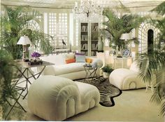 The perfect spot to curl up with a good book. | 16 Chic 1970s Interiors You Would Want To Live In