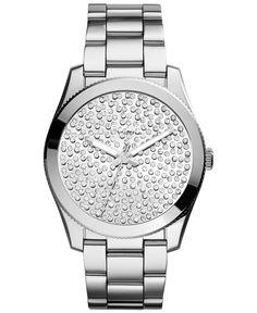Fossil Women's Perfect Boyfriend Stainless Steel Bracelet Watch 39mm ES3688 - Women's Watches - Jewelry & Watches - Macy's