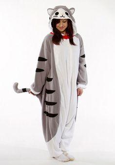 Kigurumi Shop | Tabby Cat Kigurumi - Animal Costumes & Pajamas by Sazac    SO adorable! Want!
