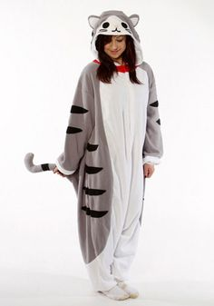 Kigurumi Shop | Tabby Cat Kigurumi - Animal Costumes & Pajamas by Sazac    SO adorable! Want!