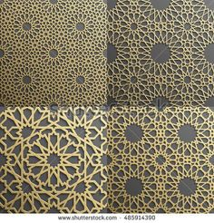 Islamic pattern.Seamless arabic geometric pattern, east ornament, indian ornament, persian motif, 3D. Endless texture can be used for wallpaper, pattern fills, web page background .