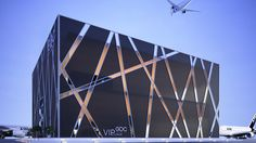 Architecture Facade GDC Pavilion on Behance Concept Architecture, Futuristic Architecture, Facade Architecture, Amazing Architecture, Architecture Colleges, Landscape Architecture, Building Elevation, Building Facade, Building Design