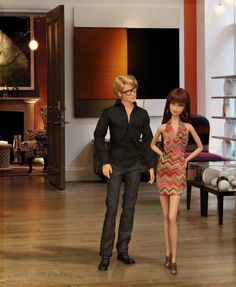 The look.  In this photo: Barbie® Basics Model No. 16 Collection 002 and Model No. 03 Collection 001.