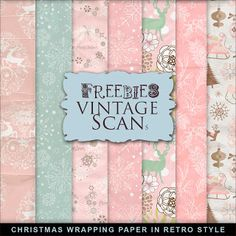 Freebies Christmas Paper:Far Far Hill - Free database of digital illustrations and papers Free Digital Scrapbooking, Digital Scrapbook Paper, Digital Papers, Papel Vintage, Vintage Paper, Vintage Clip, Printable Scrapbook Paper, Printable Paper, Printable Vintage