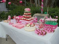 pink baby shower theme
