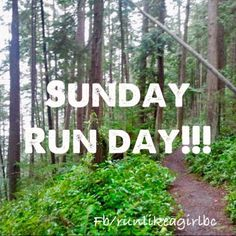 Sunday it supposed to be beautiful and supposed to be a rest day but umm..I might just have to run!