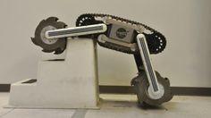 Detalles de RASSOR, el robot que extraerá agua de la Luna