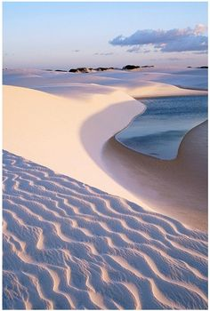 - Lençóis Maranhenses is a National Park with sand dunes covering 383,000 acres spreading out on the Northeastern coast.