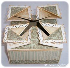 Napkin Fold Box Top-really cool