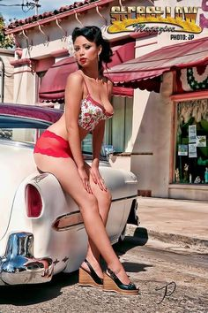 Sexy lowrider girl drawings that interfere