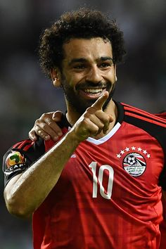Mohamed Salah has now scored 32 goals in 56 caps for Egypt.