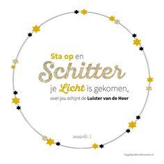 Sta op en schitter je Licht is gekomen, over jou schijnt de Luister van de Heer. Jesaja 60:1 #Licht, #Kerst https://www.dagelijksebroodkruimels.nl/jesaja-60-1-v2/
