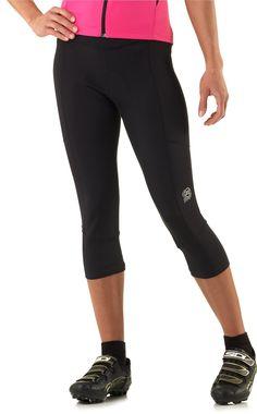 Our women s Novara Mezzo capri bike tights feature a nonbinding waist 398a2315a