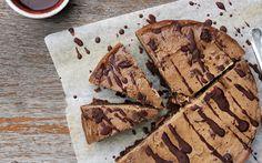 Brownie Base Cheesecake [Vegan, Gluten-Free] | One Green Planet