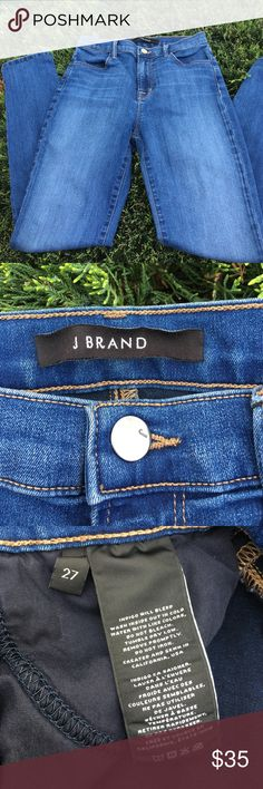 J Brand skinny Maria high rise blue code size 27 excellent condition!!! J Brand Jeans Skinny