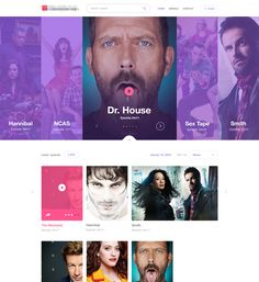 Movie/Cinema UI Inspiration — Muzli -Design Inspiration