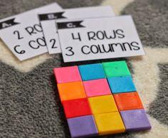 Array unit to build multiplication skills! Soaring Through Second