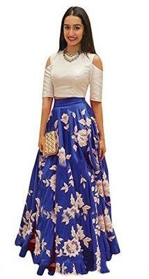 Bestsellers in Womens Fashion Nine Street Store Womens Silk Lehenga Choli (Nsds_Lehenga_Free Size) India Blue Lehenga, Silk Lehenga, Pakistani Lehenga, Lehenga Suit, Lengha Choli, Bridal Lehenga, Designer Gowns, Designer Wear, Buy Gowns Online