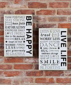 Look at this Inspirational Word Box Sign Set on #zulily today!